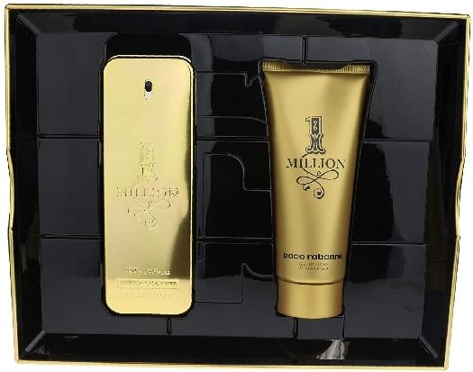 Paco Rabanne 1 Million Christmas Set: Eau de Toilette 100ml+Shower Gel 100ml