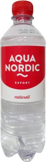 Aqua Nordic PET Naturell 0.5L