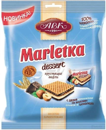 AVK Confectionery Marletka Dessert 155g