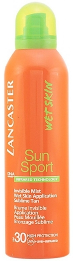 Lancaster Suncare Invisible Mist Wet Skin Application SPF30 200ml