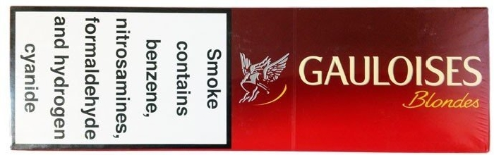 Gauloises Blondes Red 200s LNHW
