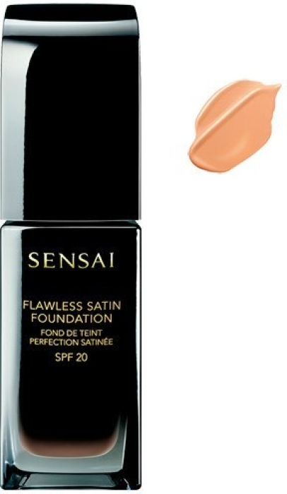 Sensai Flawless Satin Fluid Foundation NFS202 Ochre Beige 30ml