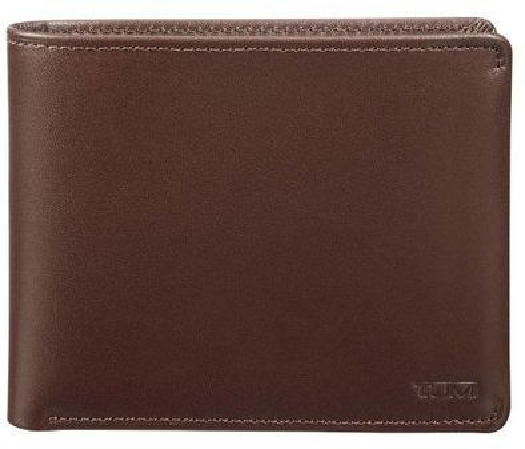 Tumi Nassau Global Wallet with Coin Pocket, Brown Smooth 01262137BST539