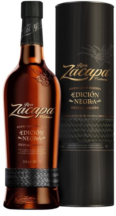 Ron Zacapa Edicion Negra 1L