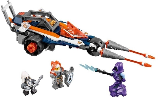 LEGO System AS, line Nexo Knights, lance's twin jouster