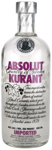 Absolut Vodka Kurant 0.5L