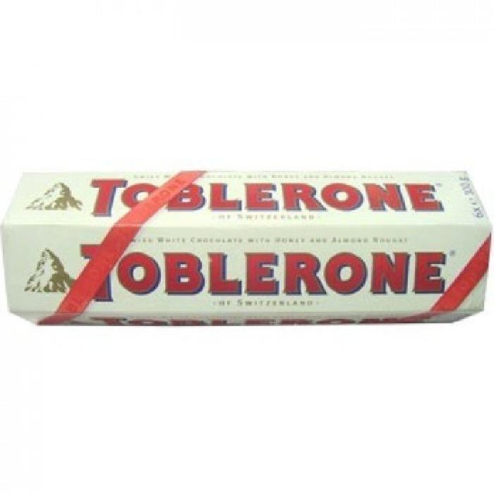 Toblerone White 6х100g