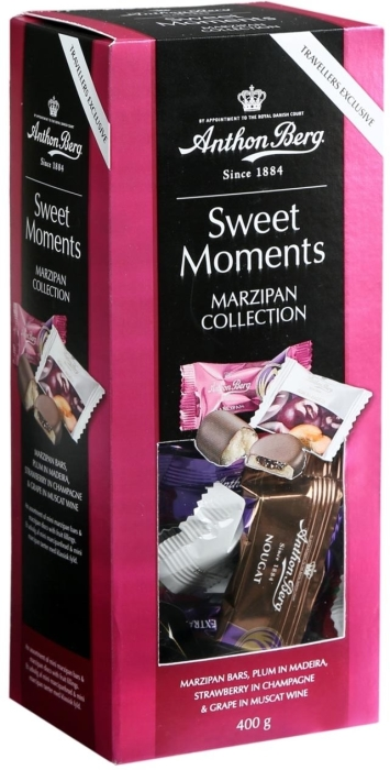 Anthon Berg Sweet Moments Marzipan Collection 400g