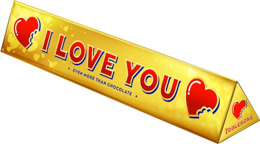 Toblerone Gold Messages 360g