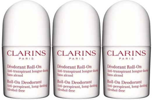 Clarins Roll-on Deodorant Trio 3x50ml