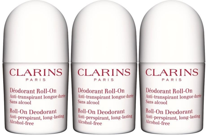Clarins Roll-on Deodorant Trio 3x50ml