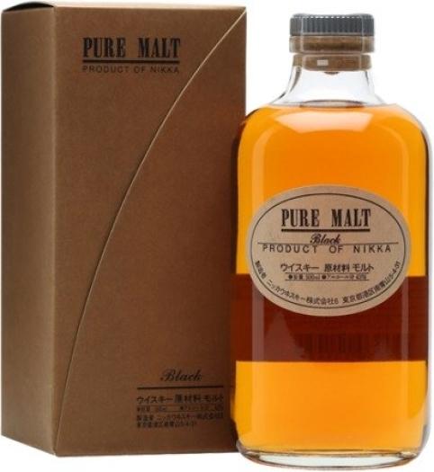 Nikka Pure Malt Black 43% Whisky Giftbox 0.5L