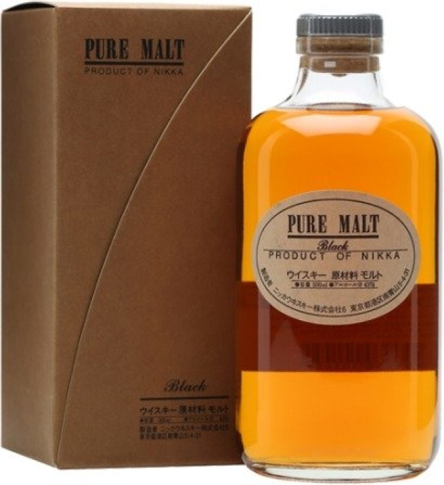 Nikka Pure Malt Black 43% Whisky Giftbox 0.5L