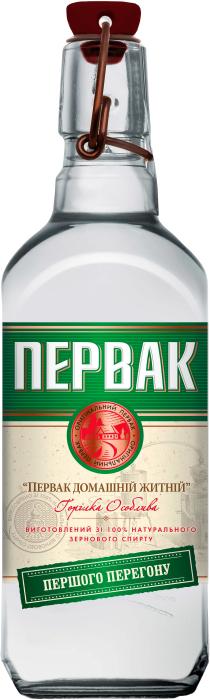 Pervak Homemade Rye Vodka 0.5L