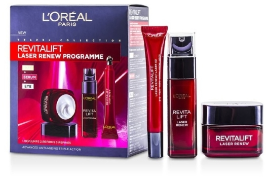 L'Oreal Revitalift Laser Renew Face Care Set 145ml