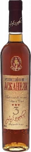 Askaneli Brandy 3 YO 40% 0,5L