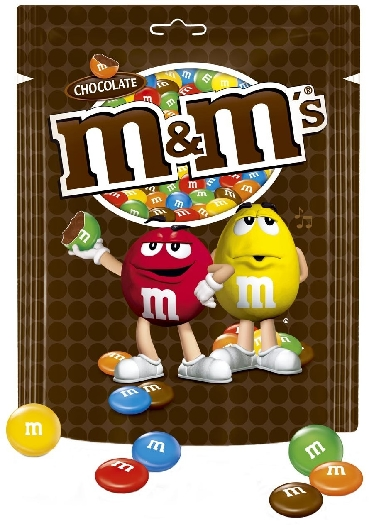 M&M's Family Bag Chocolate 250g
