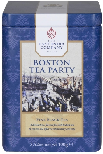 The East India Company The Boston Tea Party in caddy 100g