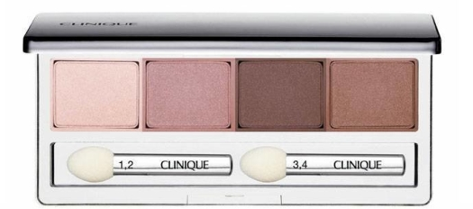 Clinique All About Shadow Quad Eye Shadows Pink Chocolate 4.8g
