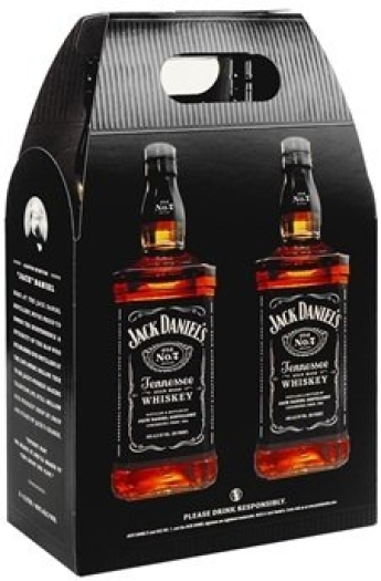 Jack Daniel's Black Label 2x1L