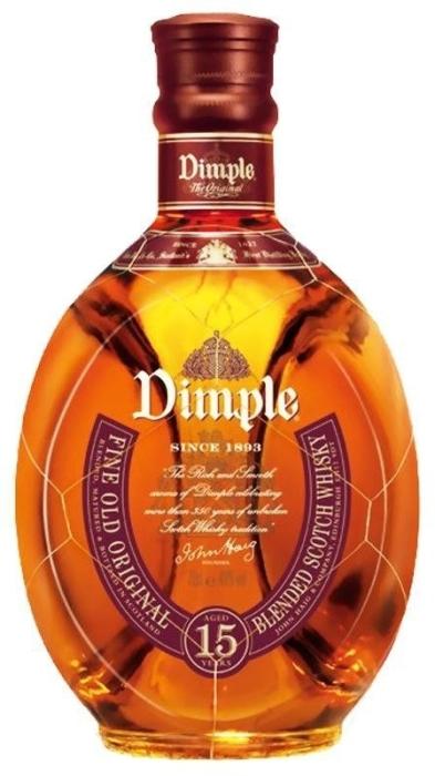 Dimple 15 YO Whiskey 1L