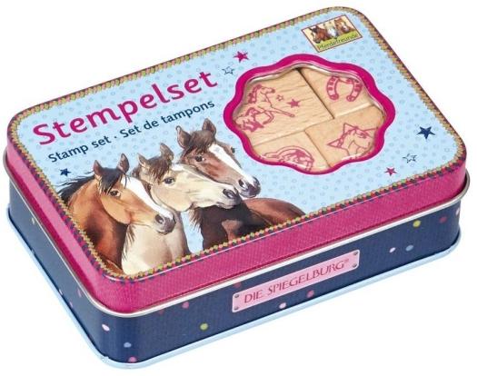Spiegelburg Pferdefreunde 13912 Wooden stamps