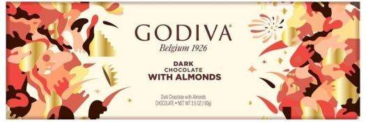 Godiva Dark Almonds 300g