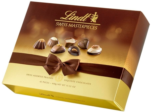 Lindt Assorted Swiss Box 440g