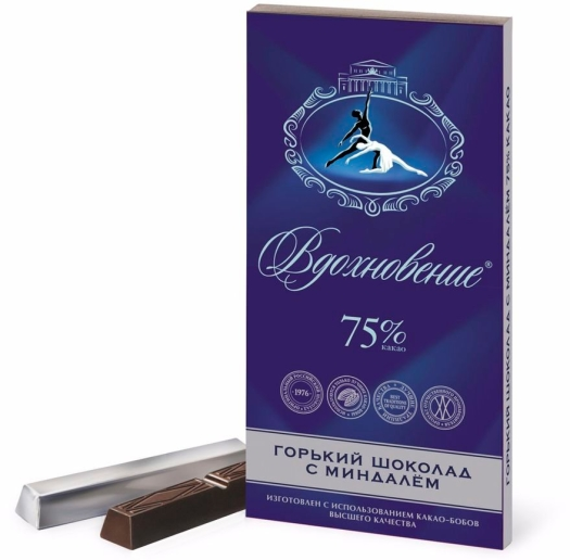 Babaevsky Artpassion Elite Chocolate With Almond 100g