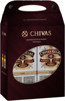 Chivas Regal 12Y Twin Pack 40% 2x1L