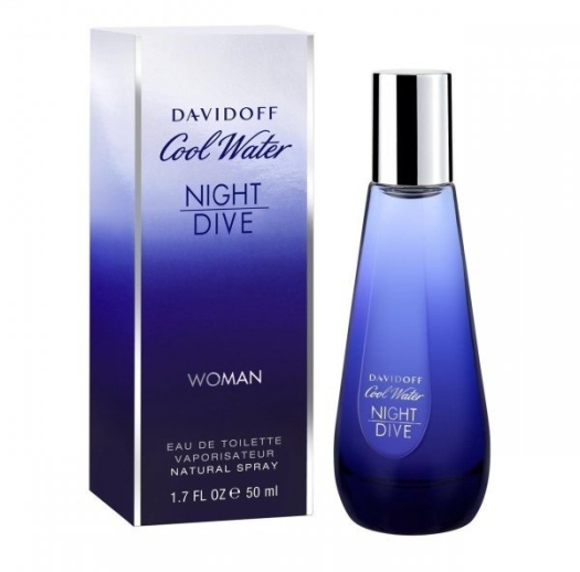 Davidoff Cool Water Woman Night Dive EdT 50ml