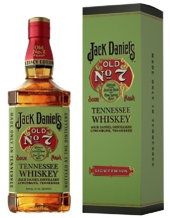 Jack Daniel's Old No. 7 Legacy Edition 43% 1L