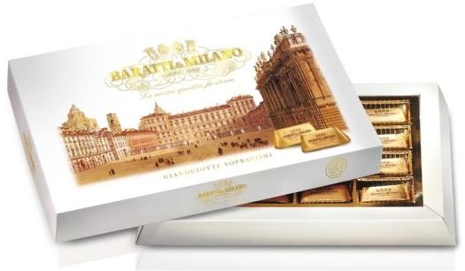Baratti&Milano Gianduiotto Gift Box 155g