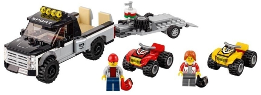 LEGO System AS line City atv race team