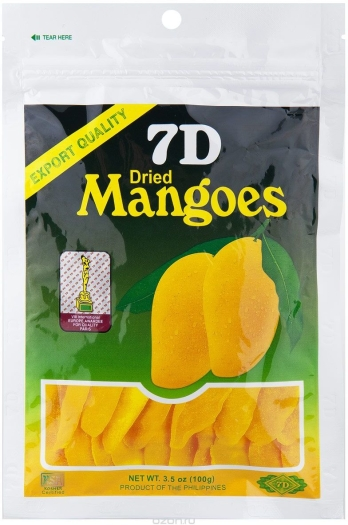 7D Dried Mango 100g