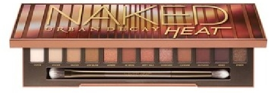 Urban Decay Naked Heat Palette Eyeshadow Palette: 12x9 g
