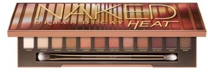 Urban Decay Naked Heat Palette Eyeshadow Palette: 12x9 g