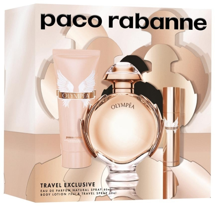 Paco Rabanne Olympea Set EdP 80ml + 75ml + 10ml