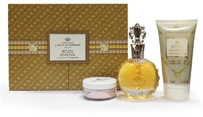 Marina de Bourbon Royal Diamond Set EdP 100ml + 150ml + 15g