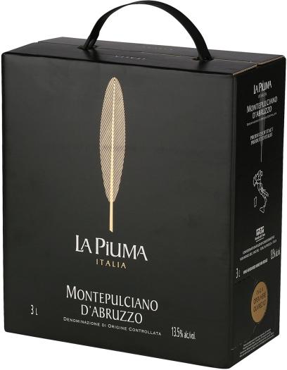 La Piuma Montepulciano D'Abruzzo 3x1L