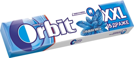 Wrigley's Orbit White Sweet Mint XXL 20.4g