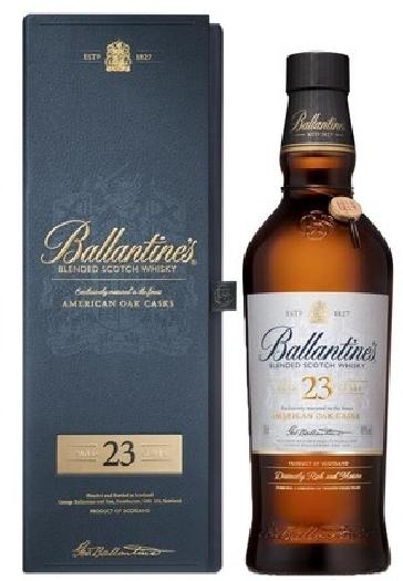 Ballantine's Blended Scotch Whisky 23y American Oak casks 40% GP 0.7L