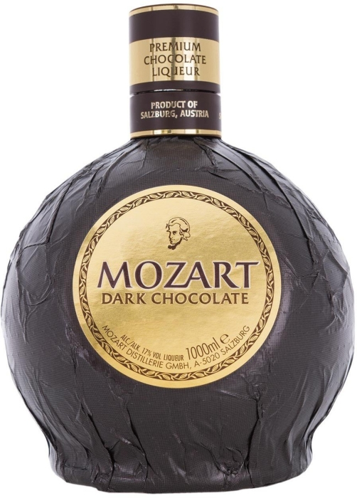 Mozart Dark Chocolate Liqueur 1L