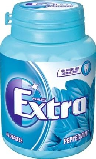 Wrigley's Extra Peppermint 46 dragees