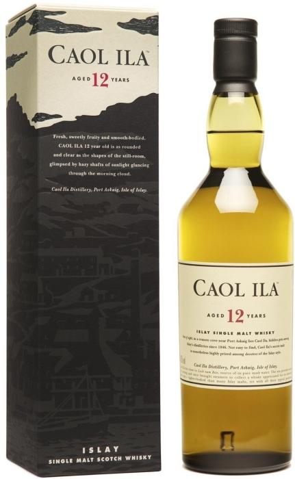 Caol Ila 12 Year Old Whiskey 43% 1L