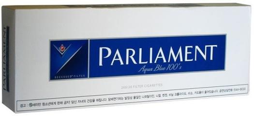 Parliament Aqua Blue NHW 200ER