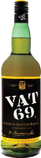 Vat 69 Whisky 40% 1L