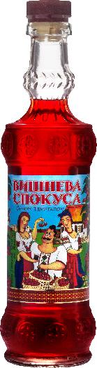National Vodka Company Cherry Temptation Liqueur 17.5% 0,7L