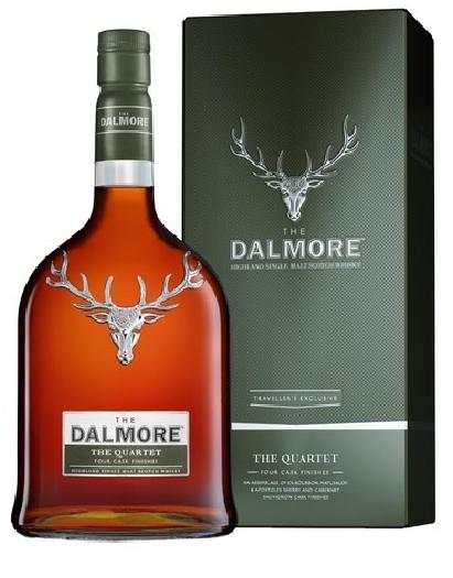 The Dalmore Quartet Whiskey 41.5% 1L