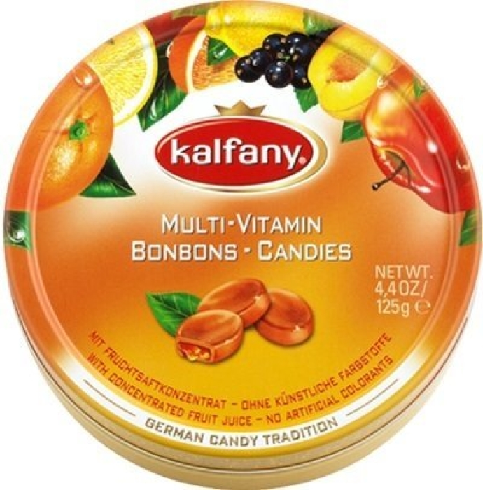 Kalfany Multi Vitamin Candies 125g